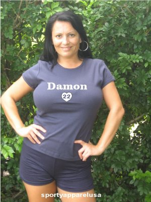 "Womens ""Johnny Damon"" Rays T Shirt Jersey S-XXL"