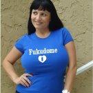 """Womens """"Kosuke Fukudome"""" Cubs T Shirt Jersey S-XXL"""