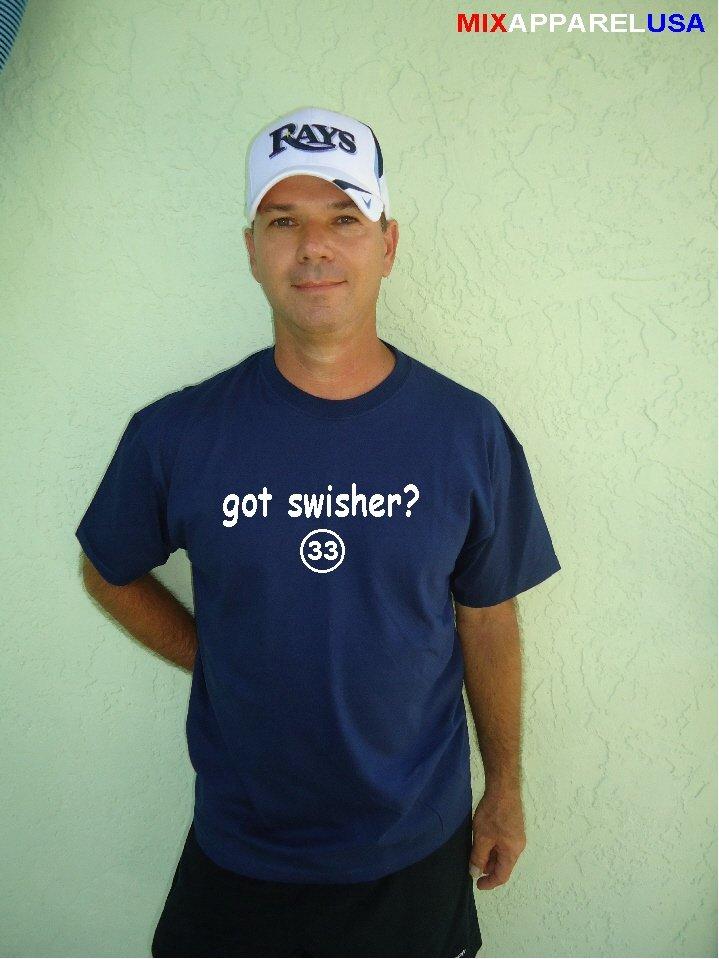 "Mens ""Got Swisher ?"" Yankees T Shirt Jersey Nick  S-XXL"