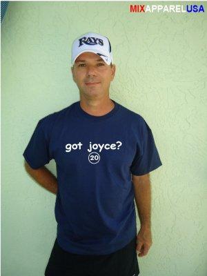 """Mens """"Got Joyce ?"""" Rays T Shirt Jersey Matt  S-XXL"""