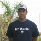 "Mens ""Got Shields ?"" Rays T Shirt Jersey James  S-XXL"