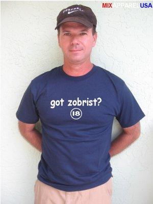 """Mens """"Got Zobrist ?"""" Rays T Shirt Jersey Ben S-XXL"""