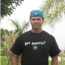 "Mens ""Got Quentin ?"" White Sox T Shirt Jersey Carlos S-XXL"