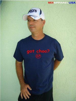 "Mens ""Got Choo ?"" Indians T Shirt Jersey Shin-Soo S-XXL"