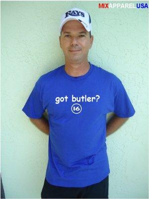 """Mens """"Got Butler ?"""" Royals T Shirt Jersey Billy S-XXL"""