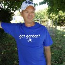 "Mens ""Got Gordon ?"" Royals T Shirt Jersey Alex S-XXL"