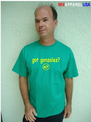"Mens ""Got Gonzalez ?"" Athletics T Shirt Jersey Gia S-XXL"