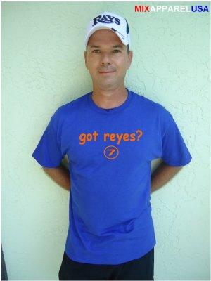 """Mens """"Got Reyes ?"""" Mets T Shirt Jersey Jose S-XXL"""