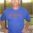 "Mens ""Got Beltran ?"" Mets T Shirt Jersey Carlos S-XXL"
