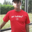 "Mens ""Got Holliday ?"" Cardinals T Shirt Jersey Matt S-XXL"