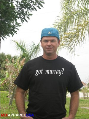 "Mens ""Got Murray ?"" Tennis T Shirt Andy S-XXL"