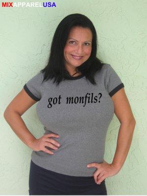 """Womens """"Got Monfils ?"""" Tennis T Shirt Gael S-XXL"""