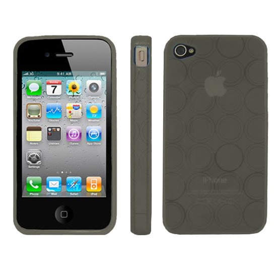 Kroo BLACK Flex Series for iPhone 4