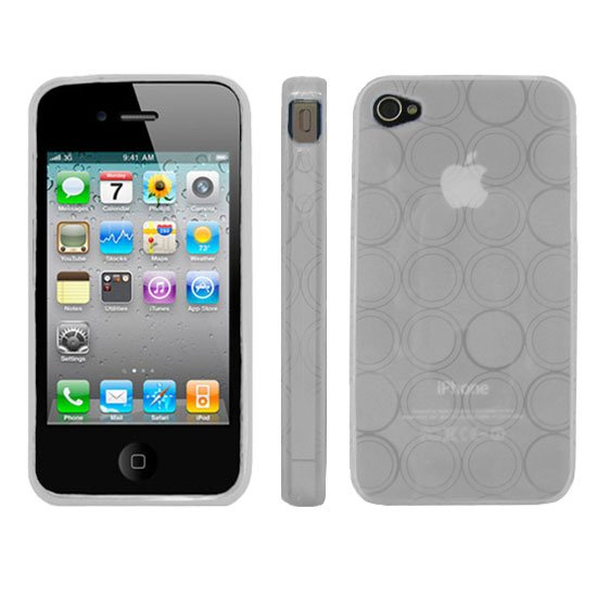 Kroo CLEAR Flex Series for iPhone 4