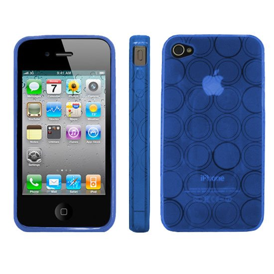 Kroo BLUE Flex Series for iPhone 4