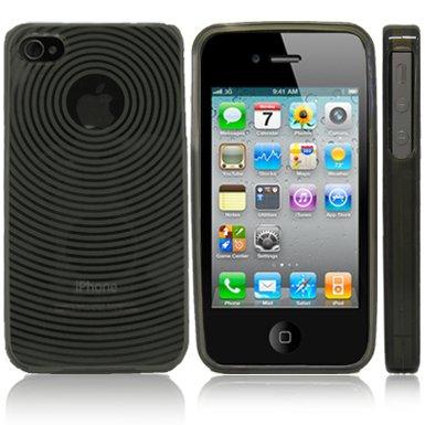 Kroo BLACK Target Flex Series for iPhone 4