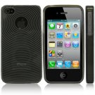 Kroo BLACK Target Flex Series for iPhone 4