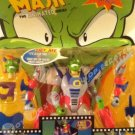 The MASK 1997 Animated Series Talking Action Figure Movie Madness 2in1 Sushi/Yakisoba Rare