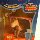 Toy Story 2 Disney Bullseye Woody's Roundup TV Show Hang Around A real working Marionette