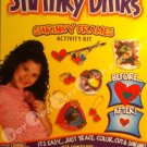 Trace, Color, Cut & Shrink! Genuine Shrinky Dinks Shrinky Frames Activity Kit.  Easy!