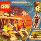 Soccer Sports Fans Set LEGO 3403 Grandstand 79 Piece Set with Scoreboard Toy Rare