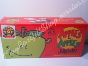 Apples to Apples Jr Game of Funny Comparisons  Award-Winning Fun Ages 7 & up Family Time Fun