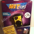 """Hit Clips Micro Flip Top Sports BoomBox w/ """"All Star"""" by Smash Mouth HitClips Boom Box Rare"""