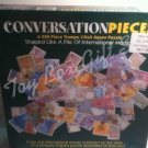 Conversation Pieces 500 Pcs Shaped like Pile of International Money Jigsaw Puzzle Trompe L'Oeil