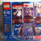 LEGO 3567 NBA 3 pk Sacramento, Orlando Magic, New York Mini-Figures Stand Trading Cards 2003
