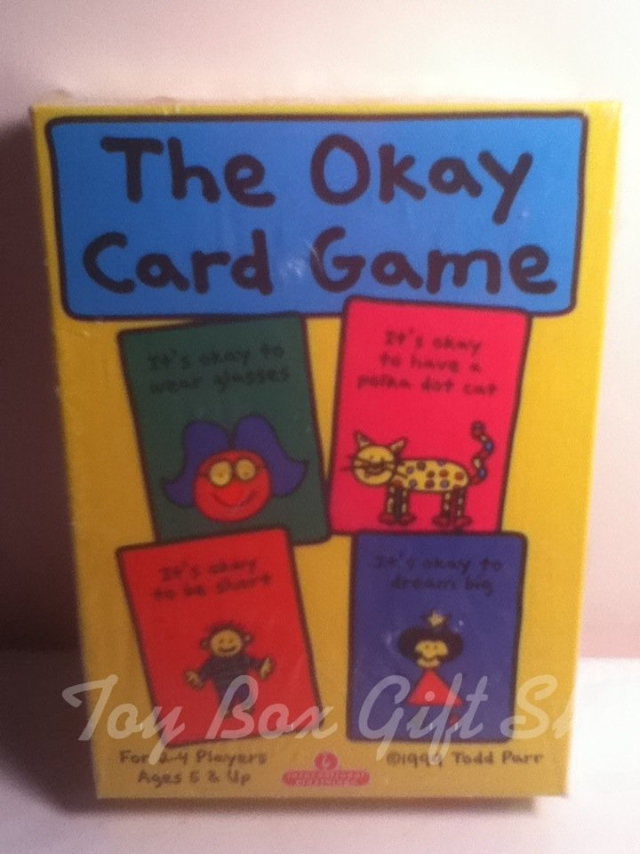 The Okay Card Game! Memory, Reading &More! Test Your Memory Skills International Playthings Sale