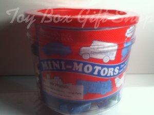 Mini-Motors Colorful Set of 72 Mini-Vehicles Colors Counting Sorting Fun Great Gift Pre k & up