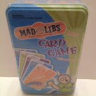 Mad Libs Card Game World's Greatest Word Game Family Fun! Hilarious!Edutainment! Ages 8 &Up