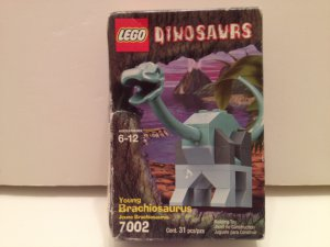 LEGO 7002 Young Brachiosaurus Dinosaur 31 piece Set #Dinosaur