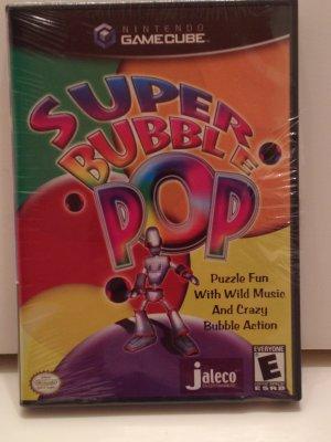 Super Bubble Pop 150 levels 3D Puzzle Action & Dance to the Music Beat Nintendo GameCube