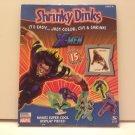 Marvel X-MEN Shrinky Dinks It's Easy… Just Color, Cut & Shrink! Makes Super Cool Display Pieces