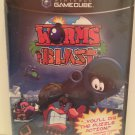 Worms Blast Go Full Blast! Intense Puzzle Action 8 Head-To-Head Modes GameCube Rated E Ubi Nintendo