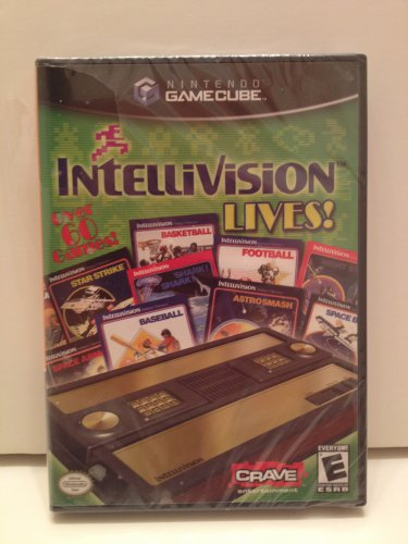 Intellivision Lives! 60+ Games Nintendo GameCube Crave Entertainment Rated E Everyone Nintendo Seal