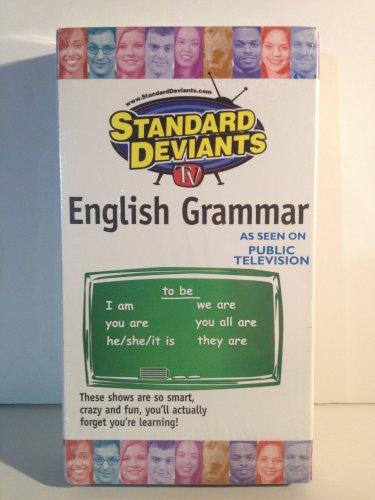 Standard Deviants  English Grammar TV VHS Cerebellum