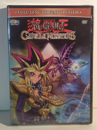 Yu-Gi-Oh! DVD Capsule Monsters Full-Length Feature Film 95 Min 4K!DS Home Video Stereo Color