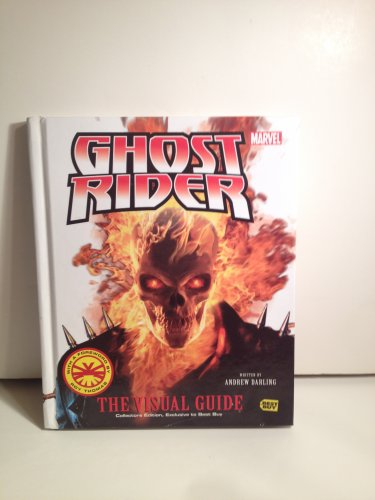Marvel Ghost Rider The Visual Guide Color Collectors Ed. Detail Hardcover by A. Darling #Collectors