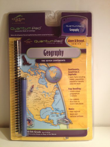 Quantum Leap QuantumPad Geography The 7 Continents3rd � 5th Grades Ages 8 &up  #Geography
