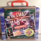 Based on Hit TV Show: Are You Smarter Than a 5th Grader? Card Game w CD & Collectible Lunch Box Case
