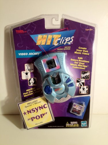 Hit Clips NSync Video Jockey Micro Music System includes �Pop� MicroMix Create&Edit HitClips