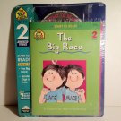 A School Zone Book & CD-ROM Set  Start to #Read The Big Race & Nicole.. 2 Animated Stories & 2 Books