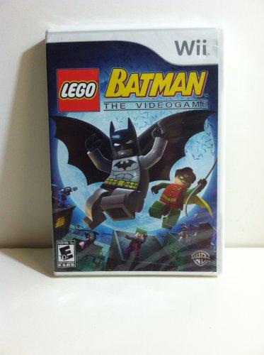 LEGO Batman  The Videogame Wii Robin Batmobile over 12 Villains Gotham City & more Nintendo Rated E
