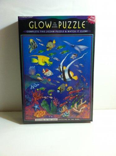 Glow in the Dark Jigsaw Puzzle Watch It Glow 250 pieces