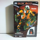 "Transforming Blok Bots ""Toxic"" 160pc Mega Bloks 9339 #Transforms Robot/Vehicle Collectible Ages7 &up"