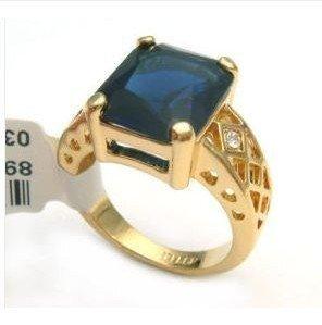 Beautiful Ring zircon crystal 6-9# free shipping