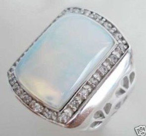 Noblest opal ring size 8# .9# .10# .11#.  free shipping