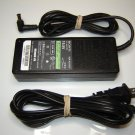 Genuine OEM Sony VGP-AC19V27 19.5V 90W Notebook Ac Adapter
